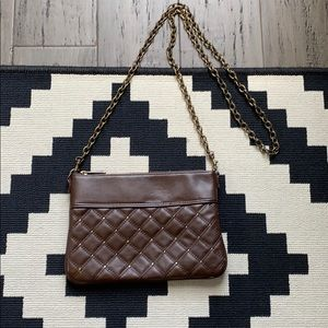 Express Studded Clutch w Removable Crossbody Chain